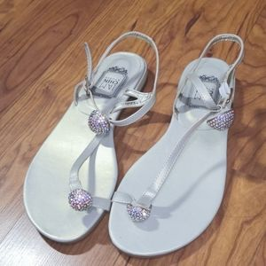 New! Gold and silver sandals